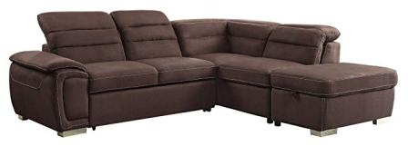 "Homelegance Platina 103"" Sectional Sofa"