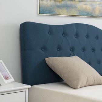 LAGRIMA Tufted Upholstered Linen Headboard