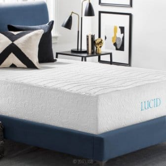LUCID 16 Inch Plush Memory Foam and Latex Mattress Review