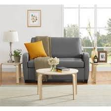 Mainstays 57″ Twin Sofa Sleeper with Memory Foam Mattress