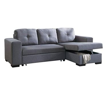 Poundex PDEX-F6910 Convertible Sectional Sofa
