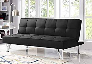 Serta RNE-3S-BK-SET Rane Collection Convertible Sofa