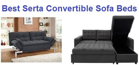 Top 5 Best Serta Convertible Sofa Beds