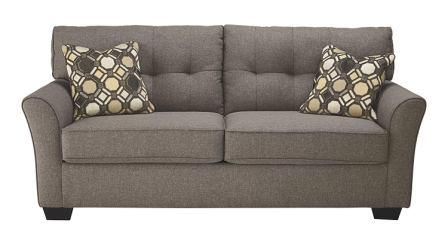 Ashley Furniture Signature Design - Tibbee Full Sofa Sleeper - Sleek Tailored Couch with Pull Out – Slate (Top Pick)