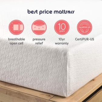 Best Price 10-Inch Memory Foam Mattress Review
