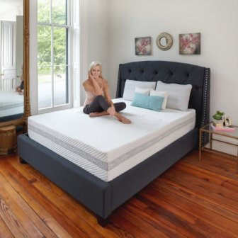 Classic Brands Engage Memory Foam Mattress Review