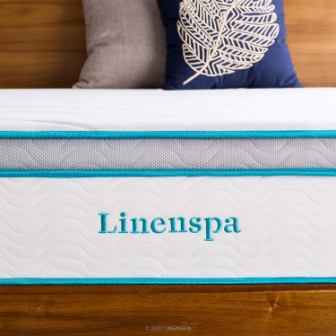 LINENSPA 12 Inch Gel Memory Foam Mattress Review