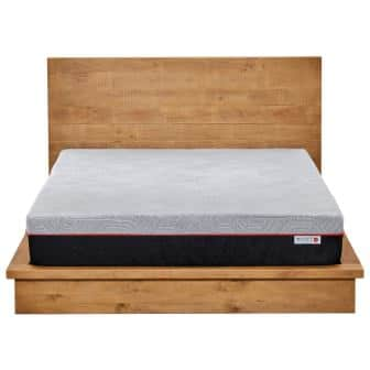 Rivet Full Mattress Celliant Cover Responsive 3-layer Memory Foam for Support and Better Overnight Recovery Bed in a Box 100-Night Trial