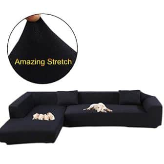Tremendous Top 15 Best Sectional Couch Covers In 2019 Machost Co Dining Chair Design Ideas Machostcouk