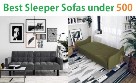 Strange Top 15 Best Sleeper Sofas Under 500 In 2019 Spiritservingveterans Wood Chair Design Ideas Spiritservingveteransorg
