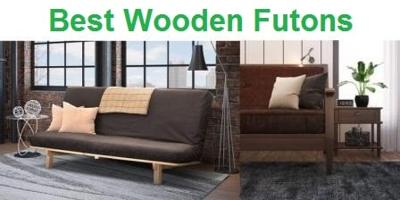 Top 15 Best Wooden Futons In 2020