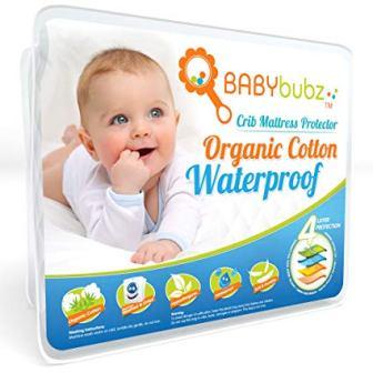 BabyBubz Crib Mattress Protector Pad
