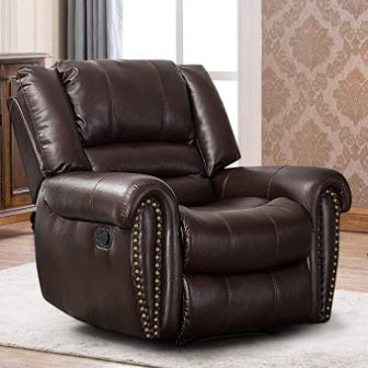 Canmov – Breathable Bonded Leather Recliner Chair