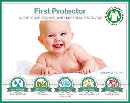 First Protector Organic Cotton Fitted Mattress Protector