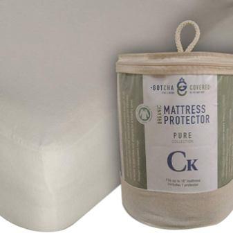 Gotcha Jersey Organic Mattress Protector