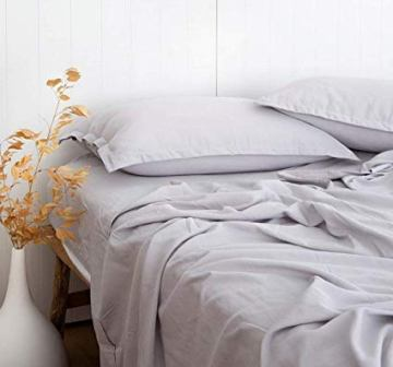 Hyaline Home Bamboo-Cotton Light Grey Set