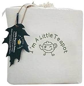 I'm a Little Teapot GOTS Organic Cotton Crib Mattress Pad Protector