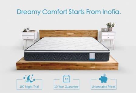 Inofia Sleeping Hybrid Innerspring Mattress Review