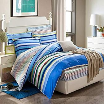 Luxury Silk Bedding Set from Colorful Mart