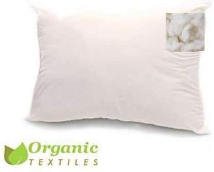 Organic Textiles Kapok Filled Pillow