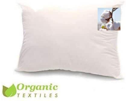 Organic Textiles Organic Cotton Pillow