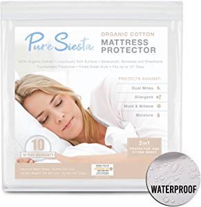 Pure Siesta Waterproof Mattress Protector