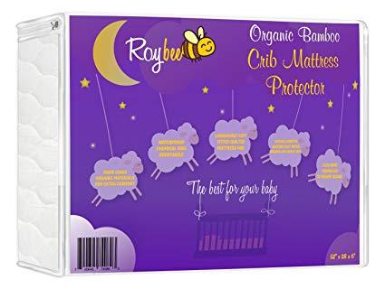 Roybee Organic Crib Mattress Protector