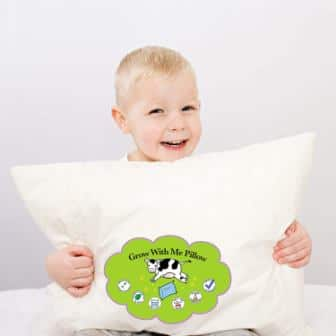 Simply Thrive Grow with Me Pillow