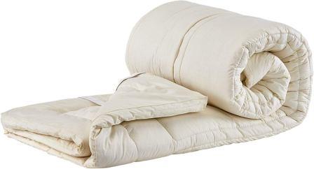 Sleep & Beyond Washable Wool Mattress Topper