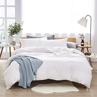100% Washed Microfibre Bedding Set by Dreaming Wapiti