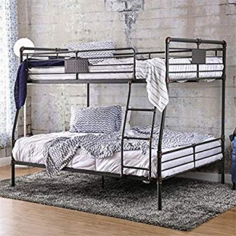 BOWERY HILL Full Over Queen Bunk Bed