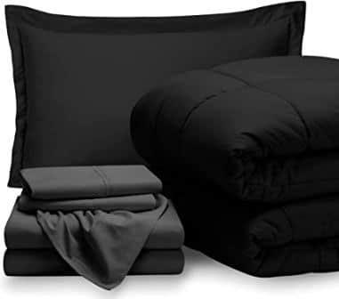 Bare Home 5 Piece Comforter & Sheet Set