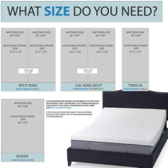 Blissful Nights Adjustable Bed Frame Review