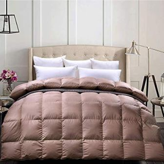C&W Luxurious Goose Down Comforter King Size
