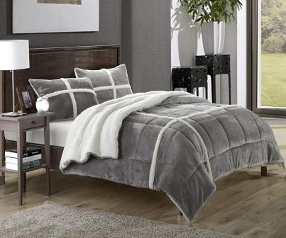 Chic Home – Chloe Microsuede Comforter Set