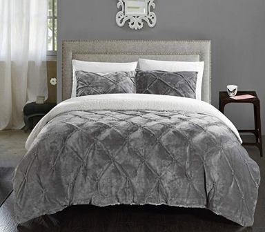 Chic Home – Josepha Sherpa Lined Comforter Set
