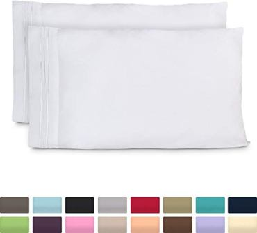 Cosy House Collection Pillowcases Luxury Pillow Case Set of 2