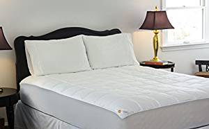 Design Weave Outlast All Season Temperature Regulating Hypoallergenic Pillow top Mattress Pad