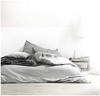 Eikei Washed Cotton Chambray Duvet Cover