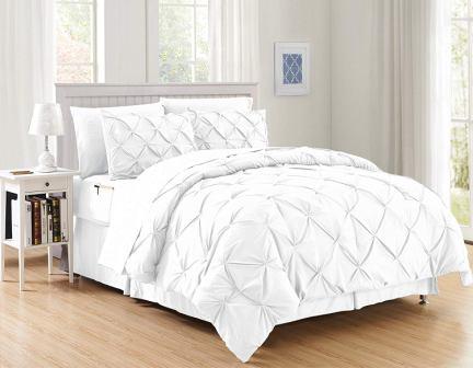 Elegant Comfort Hi-Loft 6-Piece Bed-in-a-Bag Complete Set