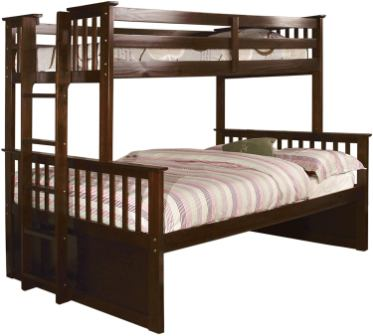 Furniture of America Queen Over Queen Bunk Bed