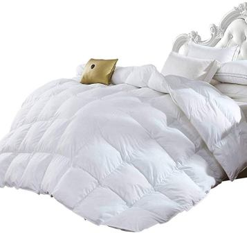 Grandeur Linen Goose Down Alternative Comforter