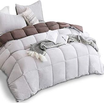 KASENTEX Down Alternative Quilted Comforter Set