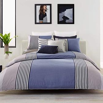 Lacoste Striped Comforter Set