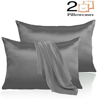 Leccod 2 Pack Silk Satin Pillowcase