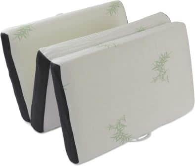 LifeSmart Memory Foam Tri-Fold Mattress