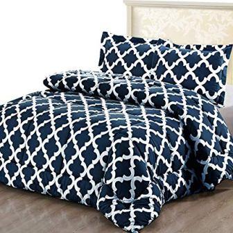 Luxurious Microfibre Printer Comforter Set by Utopia Bedding
