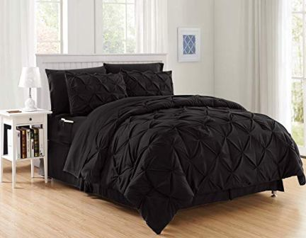 Luxury Best, Softest, Coziest 8-Piece Bed-in-a-Bag Comforter Set