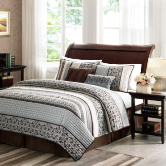 Madison Park Princeton Quilt Bedding Set (King)