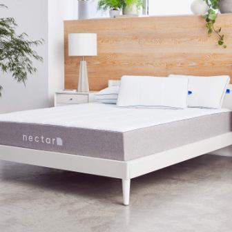 Nectar Gel-Memory Foam Mattress + 2 Pillows